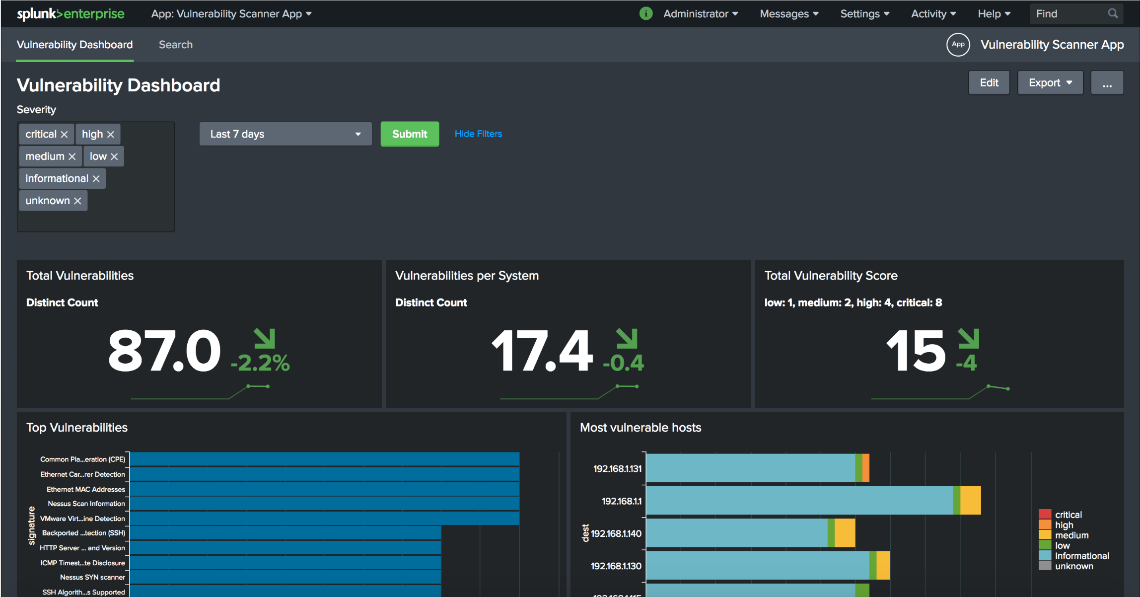 Integrating Nessus Vulnerability Scanner into Splunk