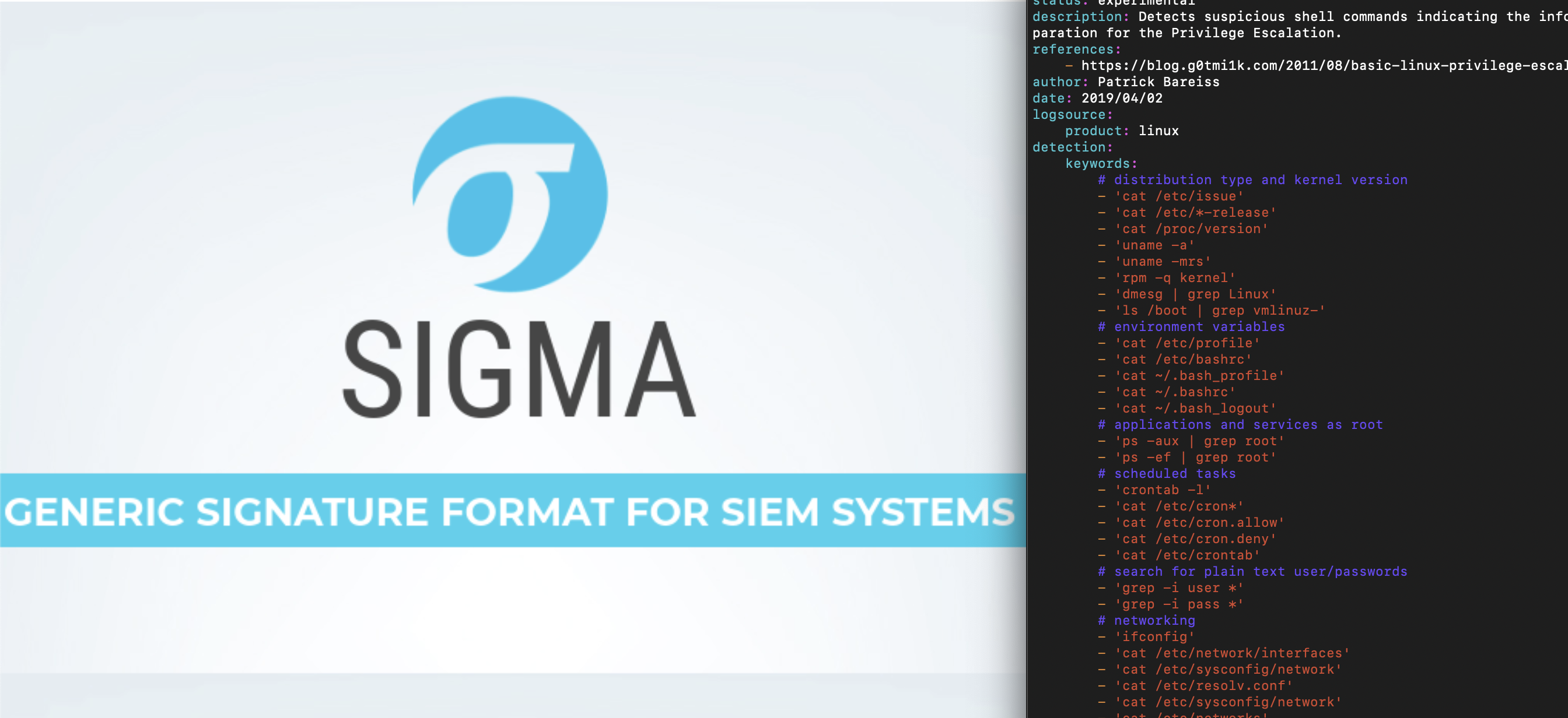 Detect Privilege Escalation Preparation in Linux with Sigma